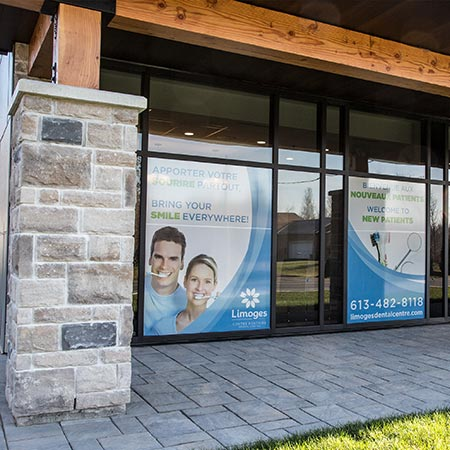 Limoges Dental Center entrance