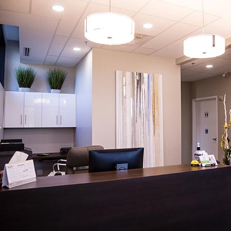 Limoges Dental Center reception