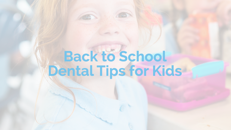 Limoges Dental Centre - Back to School Dental Tips - Dental Tips for Kids